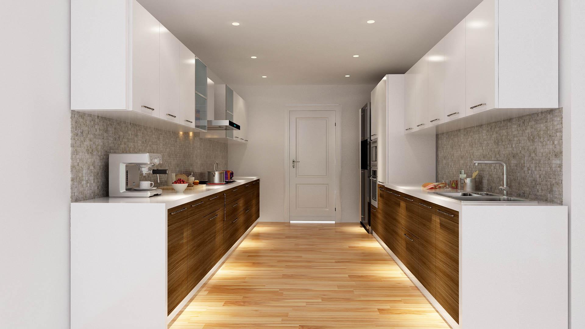Parallel kitchen design edna parallel kitchen for Parallel kitchen ideas